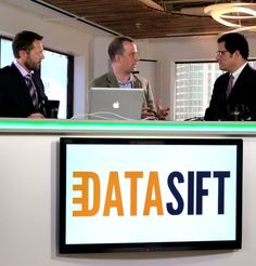 Rob Bailey of DataSift talks with David and Fritz -- at the April 24, 2012 edition of InformationWeek Valley View