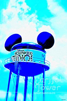 """""""Celebrate Disney's Hollywood Studios With Our 'Earffel Tower' Wallpaper"""" Going old school!"""