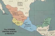 In this timeline the USA balkanized after its failure to defeat the Worker's Republic of Quebec in the war of By 2013 things look pretty different . The Former United Mexican States Republic City, Republic Of Texas, Map Symbols, Imaginary Maps, Continents And Oceans, Belize City, United States Map, Fantasy Map, Alternate History