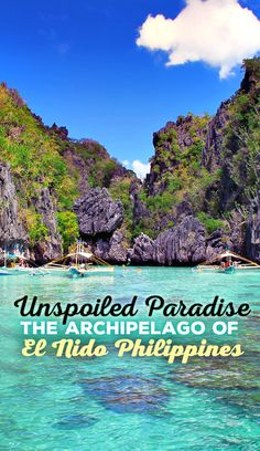 Unspoiled Paradise On Earth: The Archipelago Of El Nido, Philippines | The beauty of El Nido is almost surreal: Endless white beaches, crystal clear waters and an underwater world, that will take your breath away. A destination that truly looks like paradise... via - @Just1WayTicket