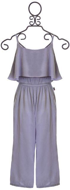 T2 Love Jumpsuit for Tweens in Gray (8 & 14)
