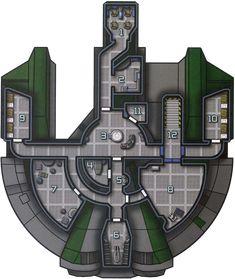 Squirrel's Sci-Fi Maps