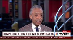 "What's more sexist: Donald Trump saying ""schlonged"" to describe the way Hillary Clinton lost in 2008, or Hillary herself orchestrating a campaign to discredit and destroy women, including Monica Lewinsky, whose ""bimbo eruptions"" threatened Bill and Hillary's hold on power?  According to Al Sharpton on today's Morning Joe, Trump's offense is the graver. Sharpton suggests that Hillary's attack on Monica Lewinsky should be understood as a woman ""dealing with someone who was in an indiscretion…"