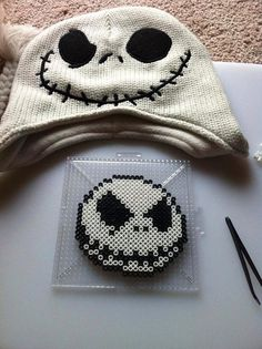 Jack Skellington Perler Bead Sprite by SDKD