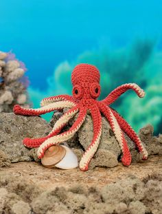 Bathtime Buddies - 20 Crocheted Animals from the Sea