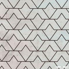 Mikrofaser, Grau/Beton Strichmuster - Stoff & Stil