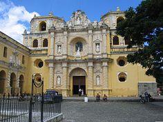 Antigua Guatemala Iglesia y convento de La Merced.