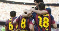 Barcelona speelt met Osasuna: 7-0