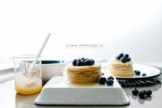 Blueberry Lemon Mini Crêpe Cake Recipe