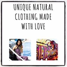 Unique narural clothing made with love www.cardamomboutique.com