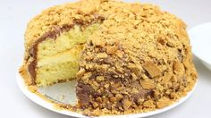How to make a Golden Gaytime cake