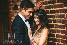 Radhika & Kishan | Goat Farm Piedmont Park | Atlanta Indian Engagement Session