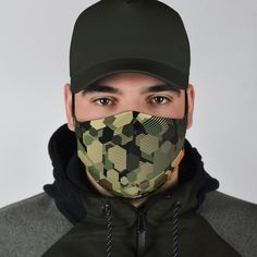 All of our Face Masks are custom-made-to-order and handcrafted to the highest quality standards. Add style and personality to your wardrobe with a custom printed face mask! Constructed from a super soft polyester blend that is comfortable and won't irritate your skin. Features adjustable ear loop buckles and an optio Funny Gym Clothes, Mens Face Mask, Face Masks, Mermaid Tights, Uk Flag, Army Men, Pocket Pattern, Wife And Girlfriend, Face Shapes