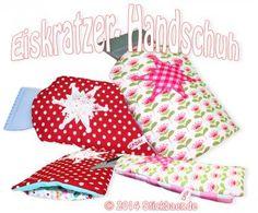 Eiskratzer-Handschuh Stickmaschinen ITH Datei Machine Embroidery File