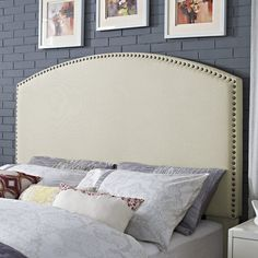 You'll love the Beneduce Curved Upholstered Panel Headboard at Wayfair - Great Deals on all Furniture products with Free Shipping on most stuff, even the big stuff.