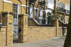 Wall Top Railings - British Spirals & Castings