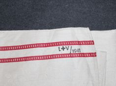 Linen Towel, Finnish army medical corps, ( ) SA L+V 1941 stamped