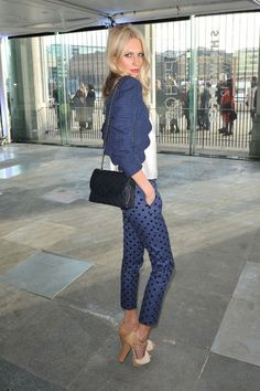 Poppy Delevingne Photos - Celebs at the Chanel Show in Paris - Zimbio