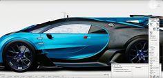 Bugatti 3D Alias Model