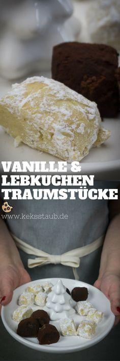 Rezept zum Backen von Plätzchen: Vanille und Lebkuchen Traumstücke - Anleitung mit und ohne Thermomix #Plätzchen #Backen #Thermomix #Rezept