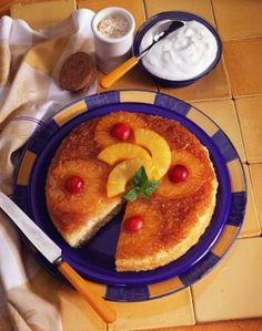 Pineapple upside-down cake recipes adapt well to the NuWave oven.