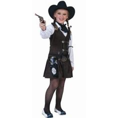 Déguisement cowboy Texas enfant fille
