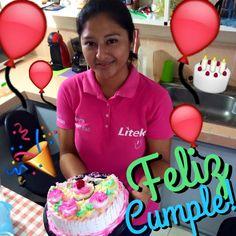 El día de hoy cumple años una compañera muy querida de nuestro equipo, la contadora Mayra! Siempre alegre, sonriente y positiva! Esperamos que te la sigas pasando de lujo! Y no lo olvides! Piensa rojo! #Litek #ExpertosEnImpresión #PiensaRojo