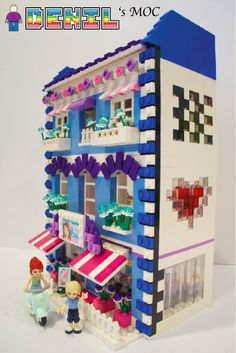 [Denil MOC] FRIENDS Butterfly Beauty Shop - by Denil oh on Flickr