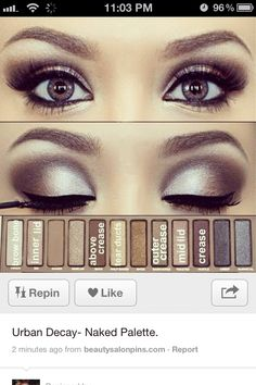 Makeup! Eye shadow idea
