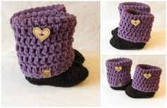 Hey, I found this really awesome Etsy listing at https://www.etsy.com/listing/269931126/custom-crocheted-slipper-boots-free
