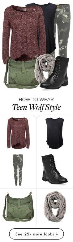 """Teen Wolf- Malia Tate"" by darcy-watson on Polyvore featuring Current/Elliott, Raquel Allegra, Vero Moda, Frye, RE ENVY, Wet Seal, TeenWolf and Malia"