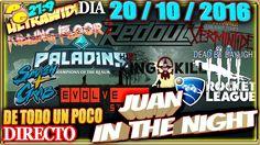 JUAN IN THE NIGHT #20/10/16 Gameplay Español 21:9 + VOID DESTROYER 2
