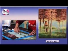 COMO PINTAR PASTIZALES CON OLEO PASTEL One Stroke, Collages, Folk Art, Youtube, Painting, Dibujo, Canvases, Paintings, Fine Art