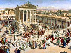 Roman Architecture, Ancient Architecture, Beautiful Architecture, Fantasy City, Fantasy World, Ancient Rome, Ancient Greek, Architecture Romaine, Rome History