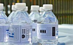 Lego Star Wars Party – Free Water Bottle Printables | upper sturt general store