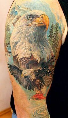 eagle tattoo | Tattoomagz.com › Tattoo Designs / Ink-Works Gallery › Tattoo Designs / Ink Works / Body Arts Gallery