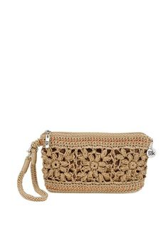 The newest wristlet in our crochet family is easy to wear and fits everything you need for a day out shopping or a night out on the town.