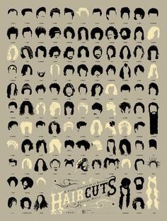 Love this poster, a fun conversation piece, awesome decor for a rocking salon