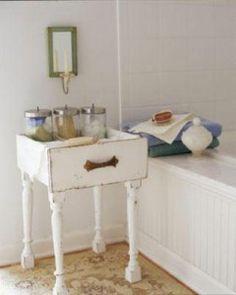 Repurposed Furniture for your Bathroom (1)