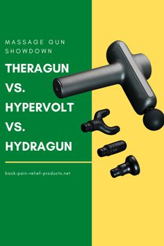 Theragun Pro vs. Hypervolt massage gun vs. Hydragun - which is the best value massage gun for back pain relief and workout recovery? Natural Pain Relief, Back Pain Relief, Si Joint Pain, Degenerative Disc Disease, Spinal Stenosis, Natural Treatments, Recovery, Gun, Massage