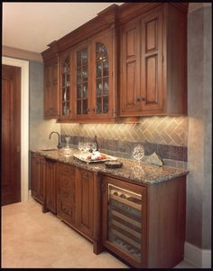 Butler's Pantry designed by one of our Award-winning Certified Kitchen Designers on staff!