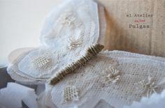 Horquilla Mariposas para el pelo, perfecta como detalle primera comunión o boda,El atelier de las Pulgas