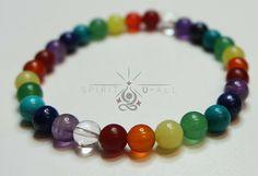 Csakra karkötő. Beaded Bracelets, Spirit, Jewelry, Jewellery Making, Jewerly, Jewelery, Pearl Bracelets, Jewels, Jewlery