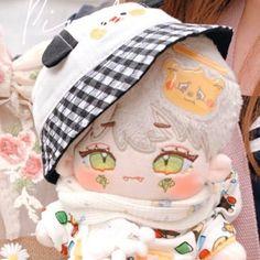 Kawaii Plush, Cute Plush, Kawaii Art, Plushie Patterns, Anime Figurines, Dress Up Dolls, Anime Dolls, Cute Little Baby, Cute Anime Boy
