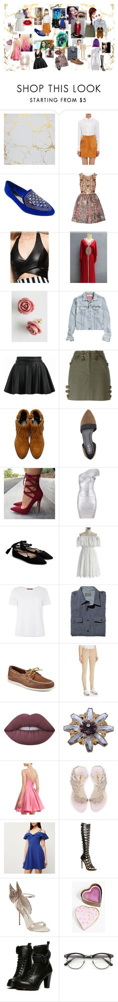"""Modern Sailor Scouts"" by breann-passey on Polyvore featuring Frame Denim, DbDk, Notte by Marchesa, Retrò, Pixie, H&M, Christian Dior, 3.1 Phillip Lim, Qupid and Chicwish"