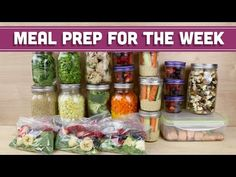 Meal Prep for the Week - Mind Over Munch Kickstart Series Easy Meal Prep, Healthy Meal Prep, Healthy Cooking, Healthy Eating, Healthy Recipes, Healthy Foods, Meal Prep For Beginners, Vegan Clean, Cold Lunches