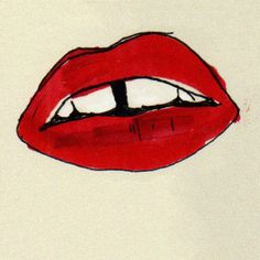 lips Fashion illustration