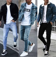 30 Awesome Black Jeans Outfit Mens to Try – Watch Center Cool Outfits For Men, Stylish Mens Outfits, Black Outfits, Fashionable Clothes For Guys, Cool Clothes For Guys, Winter Outfits For Guys, Urban Style Outfits Men, Best Casual Wear For Men, Jordans Outfit For Men