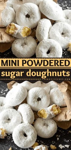 No need to take a trip to the donut shop for a tasty breakfast or brunch menu idea! This baked mini doughnut recipe is even better than anything you can buy. Plus, it comes together in just 20… Best Breakfast, Breakfast Ideas, Breakfast Recipes, Slow Cooker Recipes, Crockpot Recipes, Easy Recipes, Mini Doughnuts, Baked Donuts, Brunch Menu