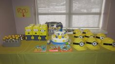 Cake gift bags and hats hand made